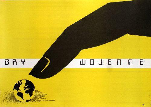 War Games, Polish Movie Poster