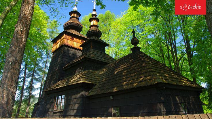 Drewniana cerkiew pw. Św. Jakuba Młodszego Apostoła w Powroźniku (1604-1606), w czerwcu 2013 r. wpisana na Listę Dziedzictwa Kulturowego UNESCO, fot. J. Wańczyk