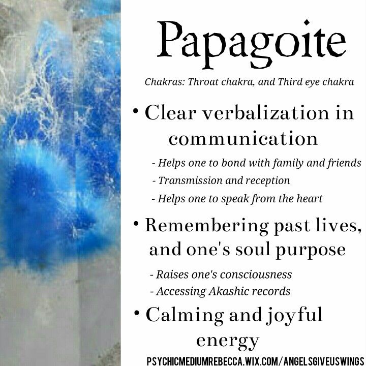 Papagoite crystal meaning