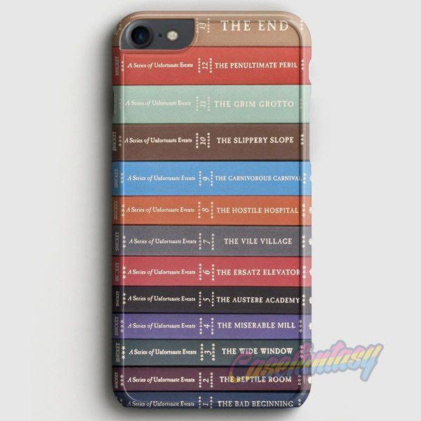 A Series Of Unfortunate Events Books iPhone 7 Case   casefantasy