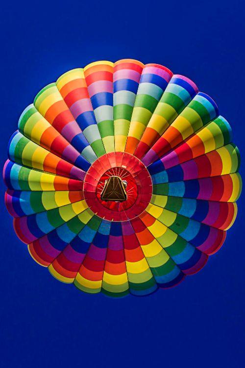 Hot Air Balloon ~ By Mari Sosa | Found on coffeelovinmom.tumblr.com