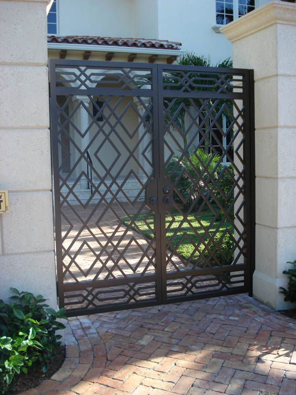 Best Iron Gate Design Ideas On Pinterest Wrought Iron Gate