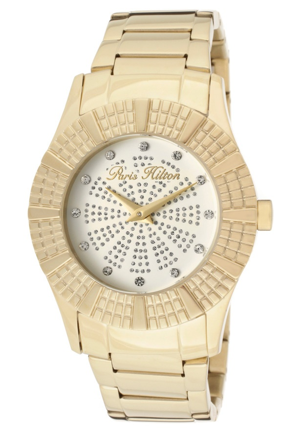 Price:$85.00 #watches Paris Hilton PH13103MSG-07M, With designs that embody the effortlessly chic and carefree nature of Paris herself, the Paris Hilton timewear collection offers trend setting designs to suit any occasion.