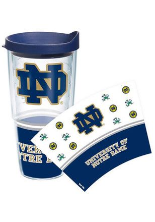 Notre Dame Fighting Irish 24oz Wrap Tumbler