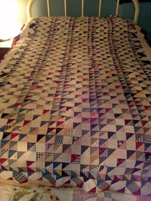 Gorgeous vintage patchwork