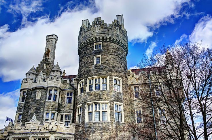West side of Casa Loma.