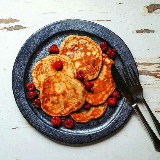 Banana and chai pancakes