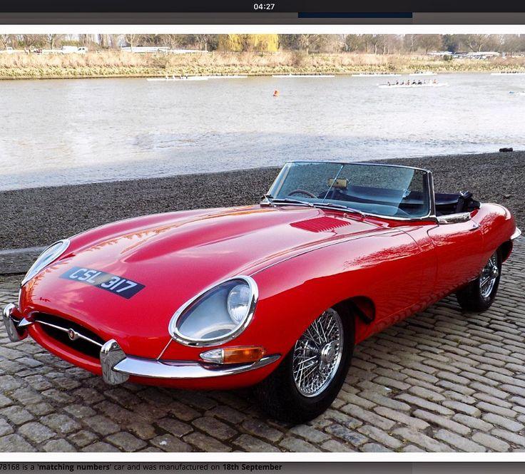 Stunning series 1 Jaguar E-type for sale, looks like it has had no expense spared... #jaguar