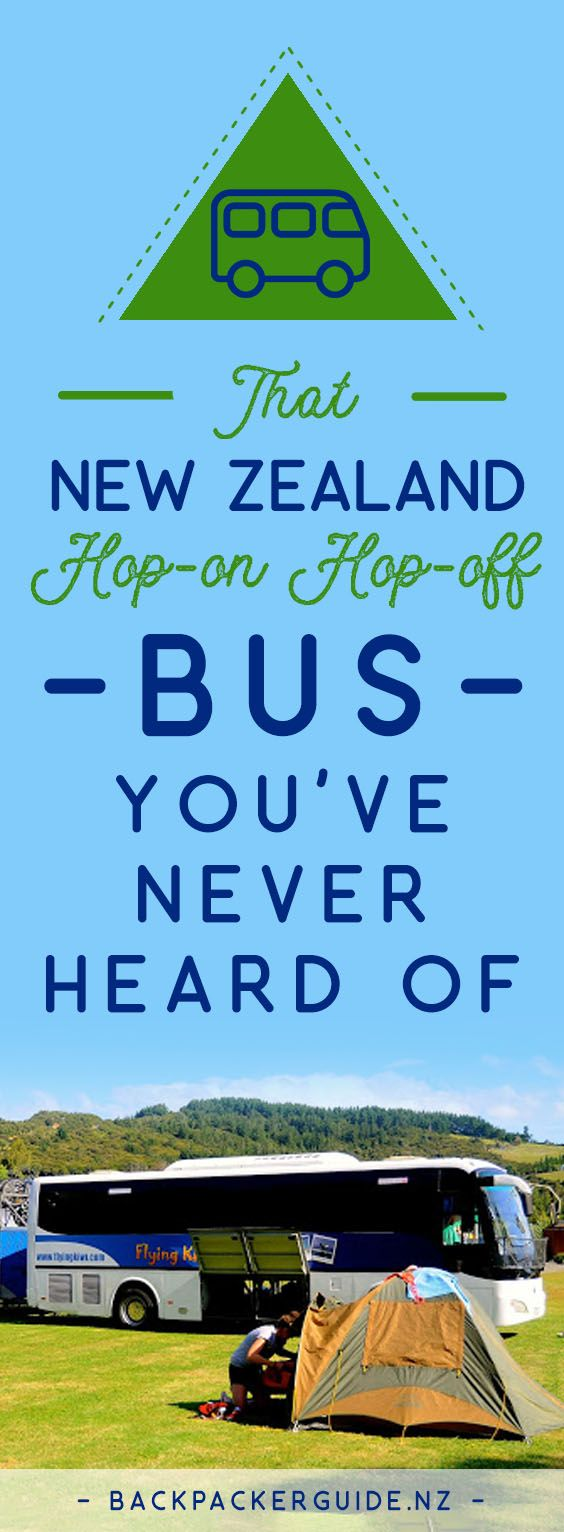 "An Alternative New Zealand Hop-on Hop-off Bus Tour for backpackers!  Flexible fun travel is what makes hop-on hop-off bus travel such a popular option for backpacking New Zealand. If you have done any kind of research into ""New Zealand hop-on hop-off buses"" then no doubt you have seen pictures of the green and orange buses of Stray and Kiwi Experience. But did you know there is a blue bus too? Did you know there is one more option for New Zealand hop-on hop-off bus travel?"