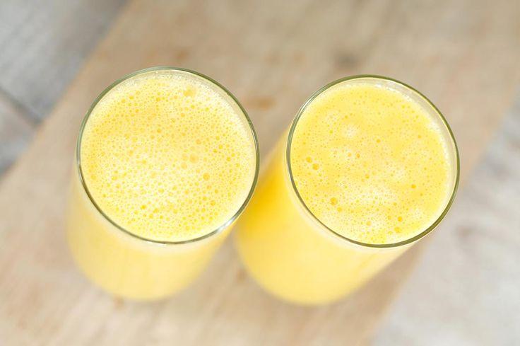 Mango smoothie van amandelmelk | lactose vrij