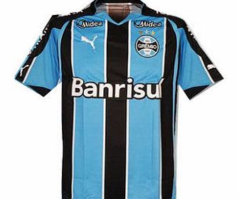 Gremio Puma 2010-11 Gremio Puma Home Football Shirt Official 2010-11 Gremio home shirt available to buy online. The new Gremio football shirt is manufactured by Puma and is available to order in adult sizes S M L XL XXL. http://www.comparestoreprices.co.uk/football-shirts/gremio-puma-2010-11-gremio-puma-home-football-shirt.asp