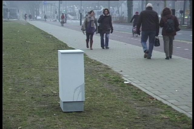 ELECTRICITY BOX - A unseen intervention in public space. Video by Sil Krol.