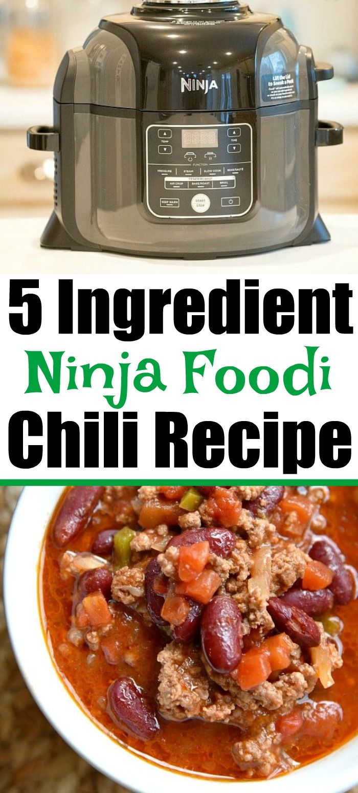 Ninja Foodi Chili In 2020 Recipes Foodie Recipes Healthy Instant Pot Recipes