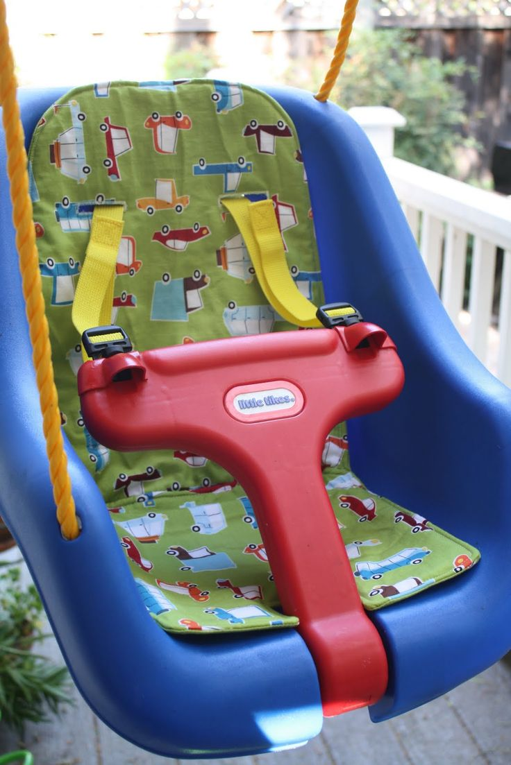 Nicole At Home Tutorial Little Tikes Swing Cushion