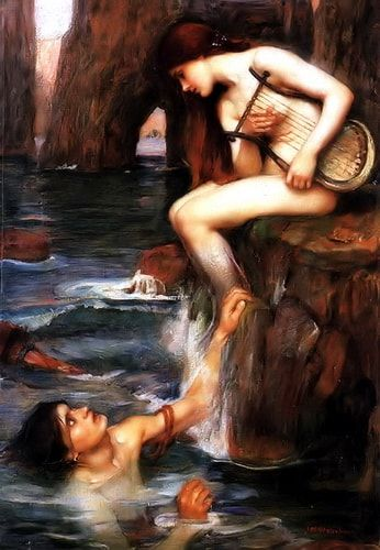 The Siren John William Waterhouse