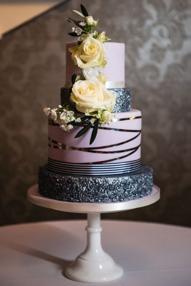 purple and grey wedding cakes 17 best ideas about grey wedding cakes on pink 18860