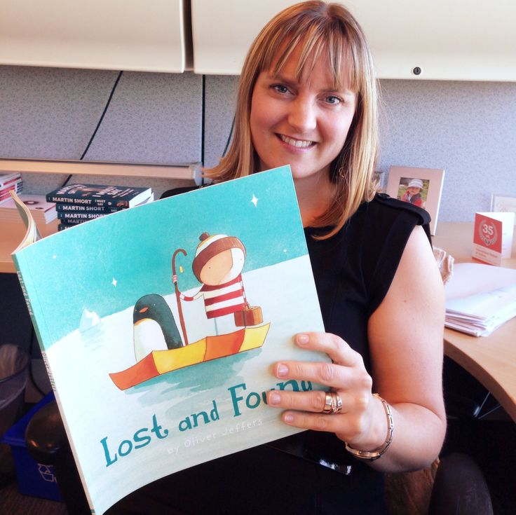 Colleen is thankful for Oliver Jeffers' Lost and Found, because it's her favourite book to read with her kids. She loves how the penguin and the boy learn that they were never lost once they found each other.  #ThankYouKidsLit