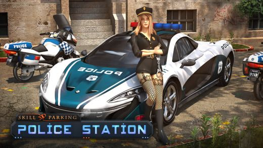 Skill 3D Parking - Police Station is now on #iTunes. Get it! #games #parking #Transylgamia