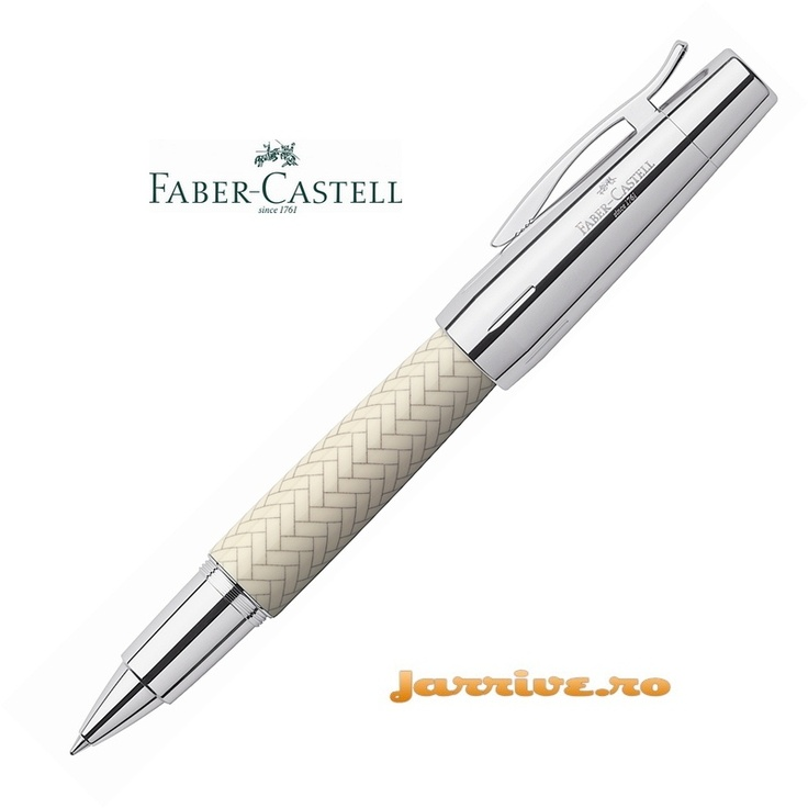 Faber-Castell e-motion Rollerball Parquet Ivory 148265