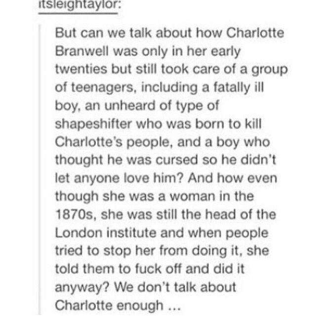Charlotte Branwell.
