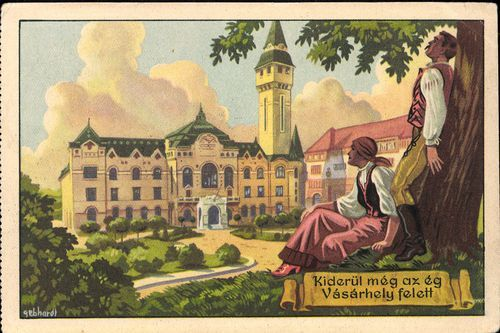 Marosváráshely - Városháza | Képcsarnok | Hungaricana
