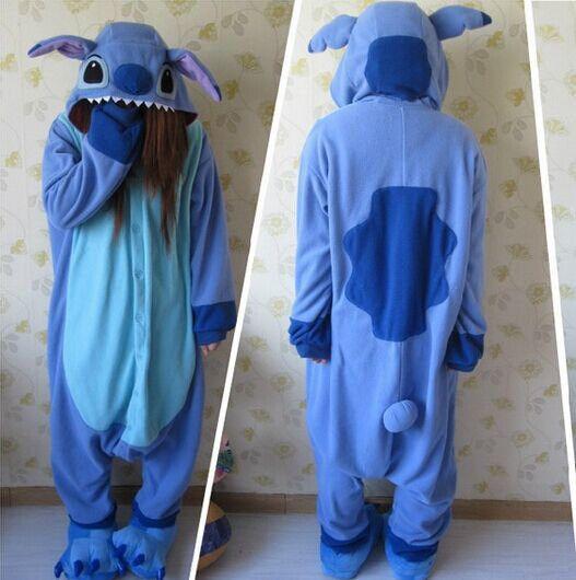 Blue lilo Stitch Pajamas