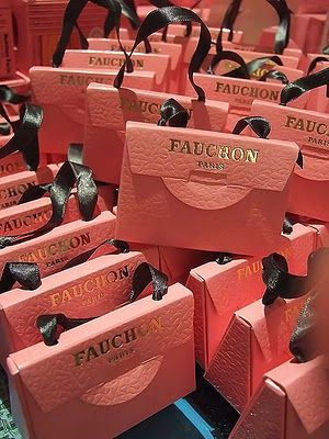 Fauchon, Gift boxes #packaging #luxury