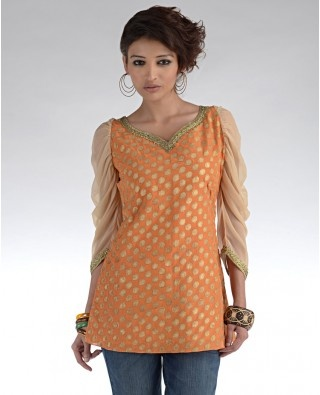 love the color! #indian #clothes #top