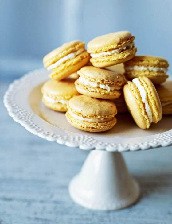 Pineapple and coconut macaroons. These make gorgeously light and fruity treats.
