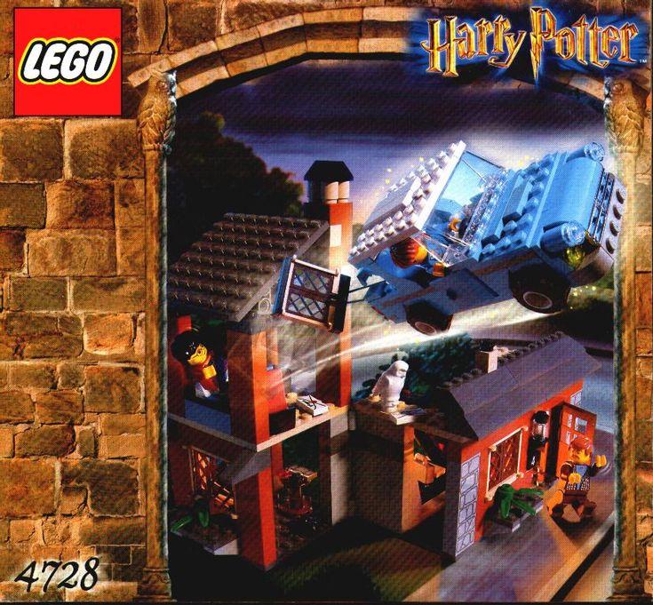 lego harry potter instructions