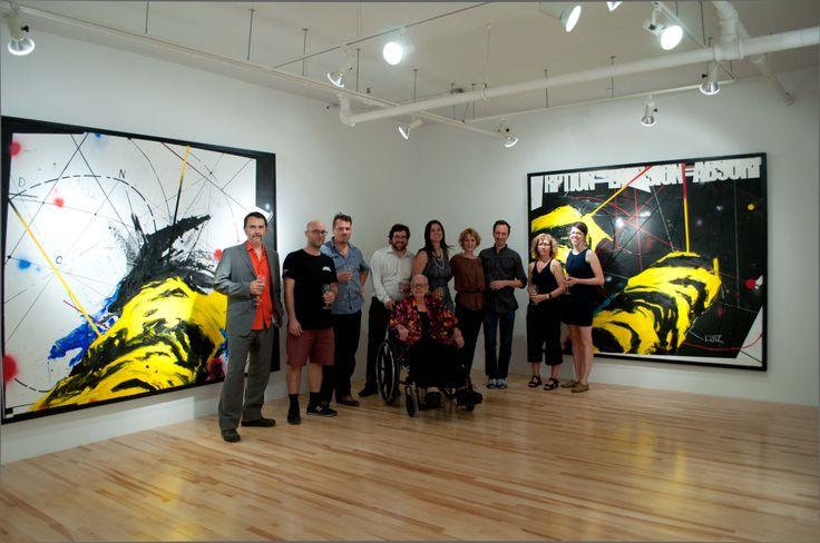 Vernissage de l'exposition 15HERTZ de Sylvain Bouthillette // Réouverture de la galerie après ses rénovations en septembre 2012