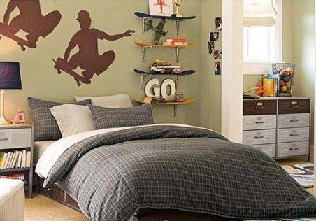 going to make this shelf for the boys room    wall vinyl similar at http://lovelucynda.uppercaseliving.net