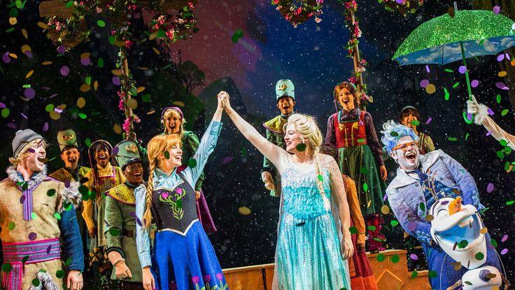 """CELEBRATION, Flórida (1º de agosto de 2016) – Pela primeira vez, a apaixonante animação de """"Frozen"""" chega ao palco da Disney Cruise Line na forma de um novo show teatral idealizado exclusivamente para o Disney Wonder. """"Frozen, A Musical Spectacular"""" estreia em conjunto com uma..."""