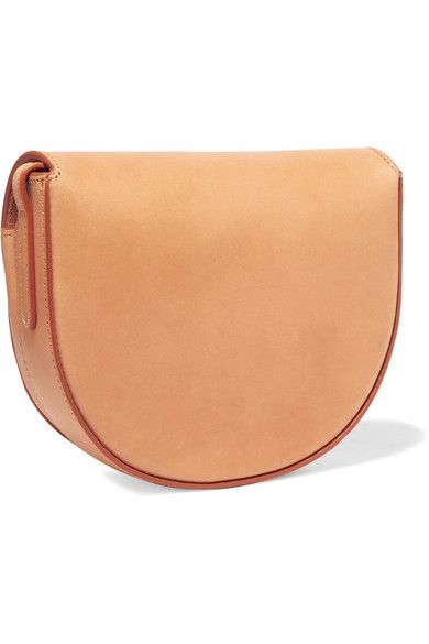 Mansur Gavriel - Saddle Mini Leather Shoulder Bag - Camel - one size