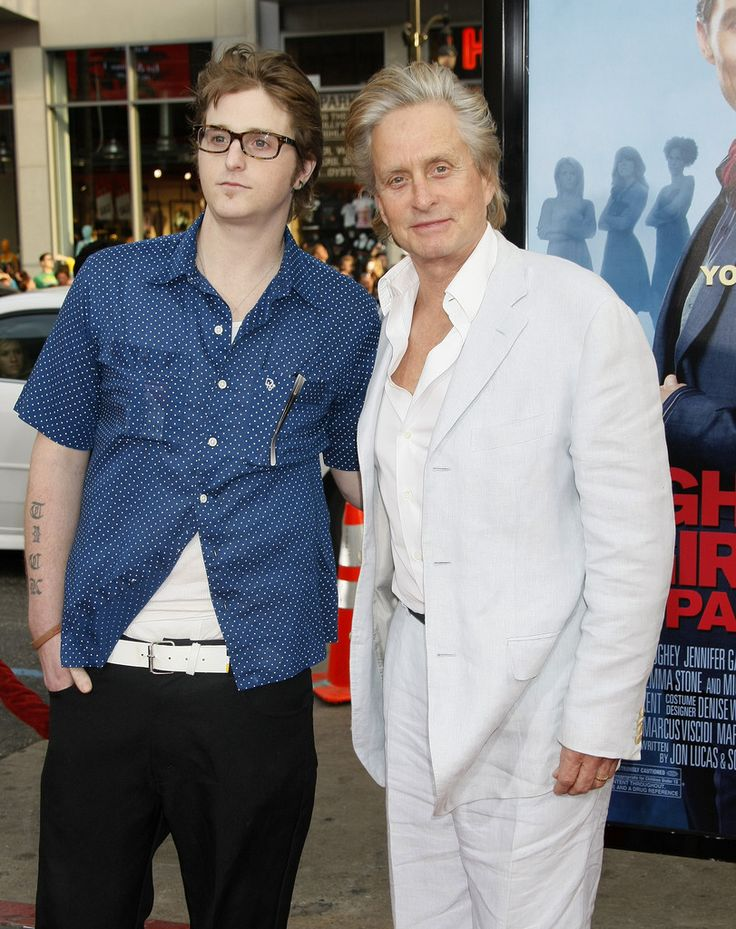 Michael Douglas and Cameron Douglas - 'Ghosts Of Girlfriends Past' Los Angeles…