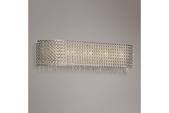 Elan Elauna 5-Light Brushed Nickel Contemporary Bath Light - #EU8F441 - Euro Style Lighting