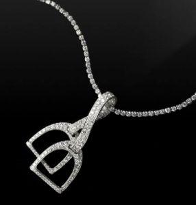 Ralph Lauren stirrup necklace