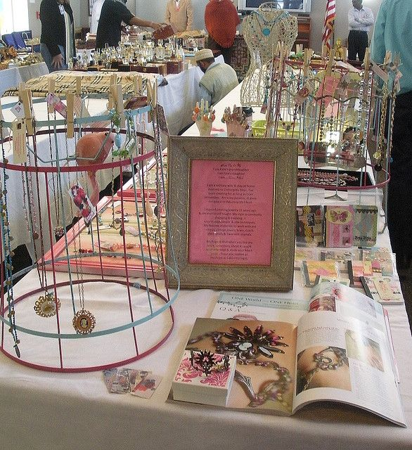 I have the best idea for the craft show based on these wire displays