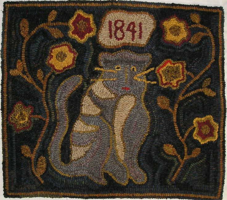 Rug Hooking Designs Primitive: 1318 Best Images About #2~Hooked Rugs~Underfoot On Pinterest