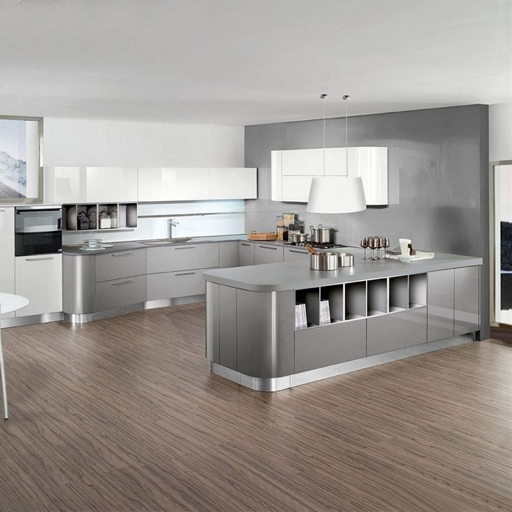 Best Affordable Kitchens With Light Gray Kitchen Cabinets 400 x 300