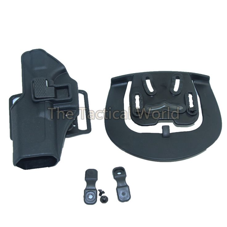 Hunting CQC Airsoft Tactical Holster Belt Paddle Hunting Combat Left Handed Holster Paintball Shooting Fit For GL 17 19 23 31