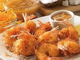 COCONUT SHRIMP  Outback Steakhouse Copycat Recipe  Dipped in beer batter, rolled in coconut and fried golden. Paired with our own Creol...