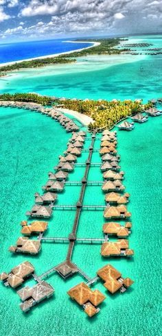 Bora Bora, Tahiti - the map does not correspond