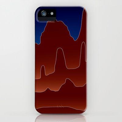Pinnacles - phone case