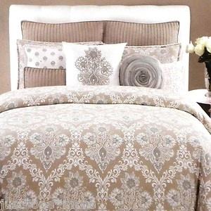 Domain 5pc King Medallion Duvet Cover W Shams Amp Pillows
