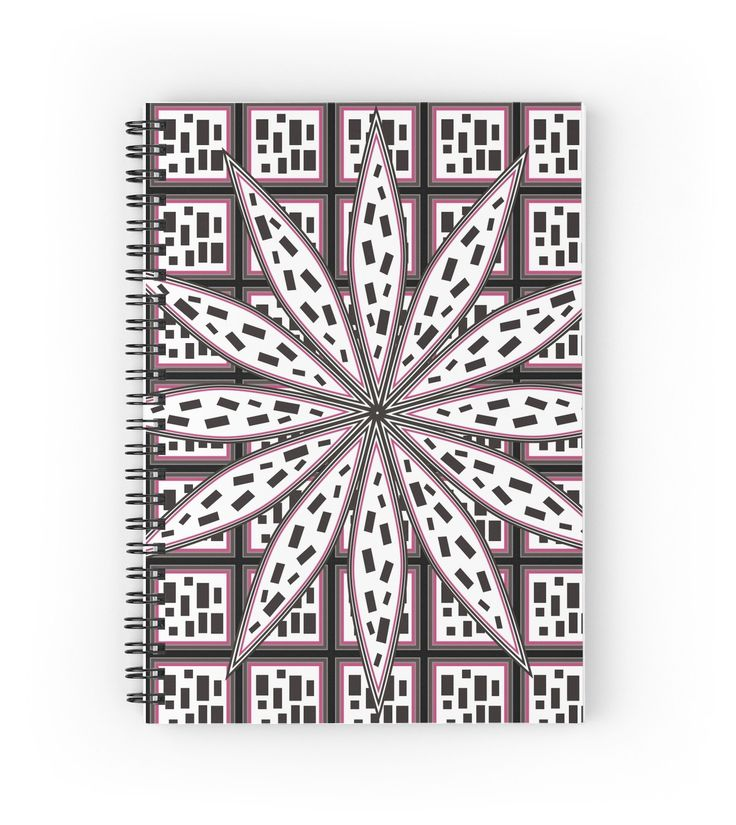 Need a new #notebook? Check this one out! #spiralnotebook #stationary #write #school #strange #abstract #floral