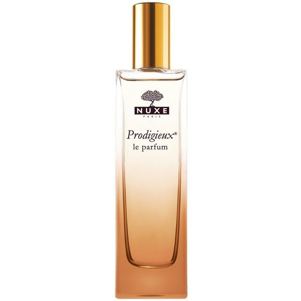 Nuxe Prodigieux Le Parfum (120 BAM) ❤ liked on Polyvore featuring beauty products, fragrance, eau de perfume, blossom perfume, nuxe, perfume fragrances and flower perfume