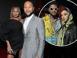 Grammy Awards 2020: Chrissy Teigen lets her hair down with John Legend at Sony Musics afterparty