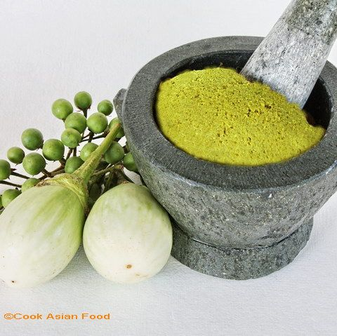 Cook Asian Food: Thai Green Curry Paste   Food   Pinterest