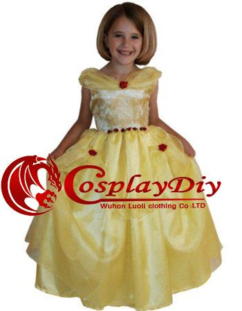 Custom made Bella Princess dress for  kids  from the Beauty and the Beast (Freeshipping)-in Costumes from Apparel  Accessories on Aliexpress.com $66.90